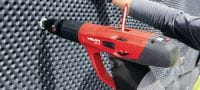 X-U P8 Ultimate-performance single nail for fastening to concrete and steel using powder-actuated tools Applications 4