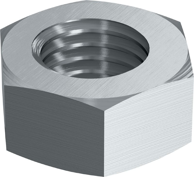 A4 hexagon nut DIN 934 Stainless steel (A4) hexagon nut corresponding to DIN 934