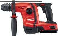 TE 6-A22 (04) Powerful D-grip 22V cordless rotary hammer with superior concrete drilling and chipping performance