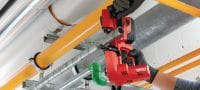SB 4-A22 22V cordless band saw with LED light and a maximum cutting depth of 63.5 mm (2 1/2) Applications 2