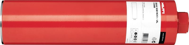 DD-BI+ UCL Premium diamond core bit for drilling with tools of any power class in all types of concrete (incl. Hilti BI quick-release connection end)