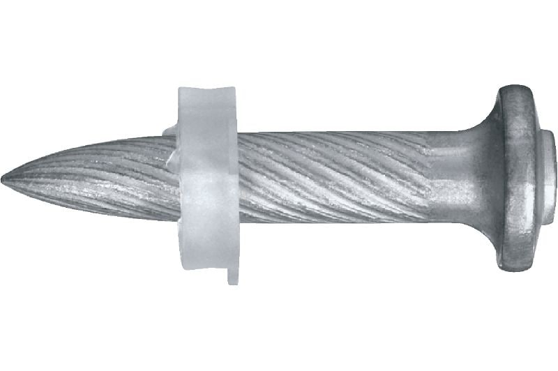 X-U P8 Ultimate-performance single nail for fastening to concrete and steel using powder-actuated tools