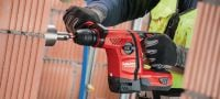 TE 6-A22 (04) Powerful D-grip 22V cordless rotary hammer with superior concrete drilling and chipping performance Applications 3